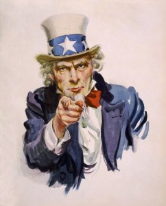 Uncle Sam painting